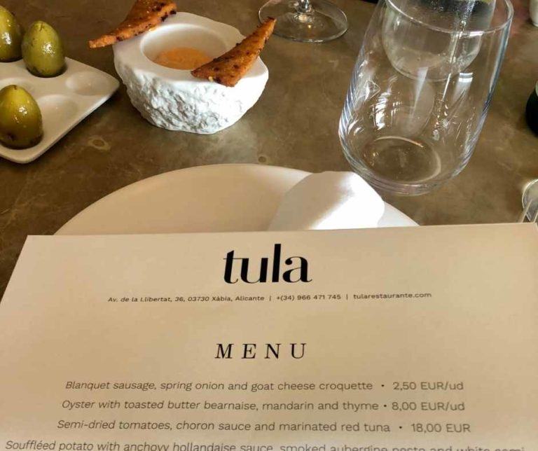 Tula Restaurant - Michelin 1 star
